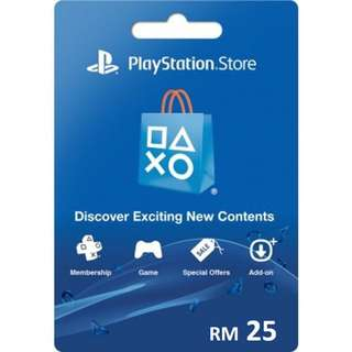 RM25 PlayStation Network PSN (digital code)