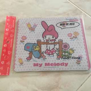 My melody mouse pad