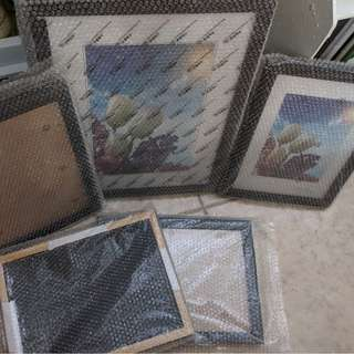 Cheap - 2 pcs A4 frames left clearing after project