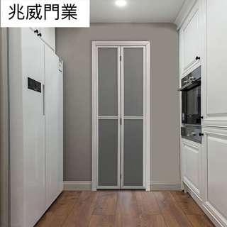 廁所廚房鋁摺門吊趟門間隔門浴屏