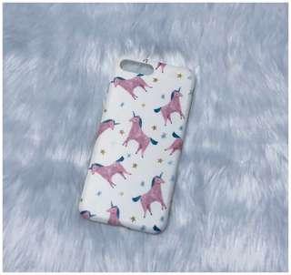 Slightly used iPhone 7+/8+ Unicorn Case - Matte/TPU