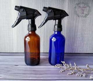 240ml Spray Glass Bottles