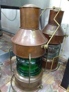 Ship lamp antic
