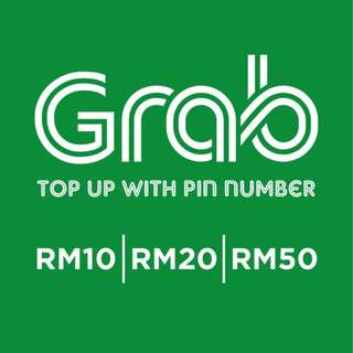 Grab Car Pin Number Top Up (Drivers Only)