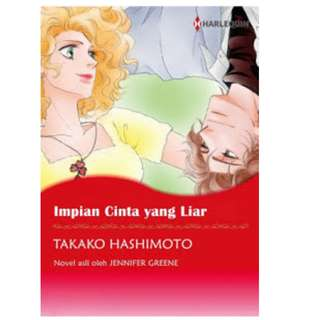 Ebook Impian Cinta yang Liar - Takako Hashimoto