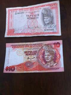 Old Malaysian notes