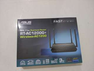 BNIB Asus RT-AC1200G+ wireless router