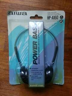 Vintage Aiwa headphones hp-a160