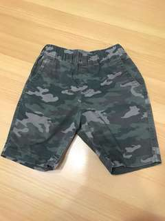 UNIQLO Kids Camo Shorts XS