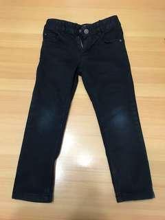 H&M Kids Stretch Black Jeans US 3-4 Y