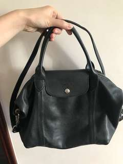 Longchamp two ways leather bag