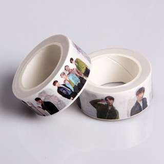 [PO] BTS-KPOP Washi Tape For Designing