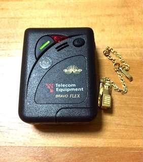 Vintage Motorola Pager Beeper Bravo Flex 1980s