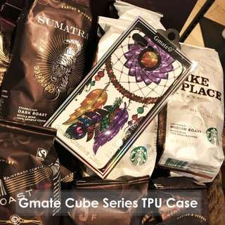 iPhone 7/7 Plus Violet Dark Dress Gmate Cube Series TPU Case