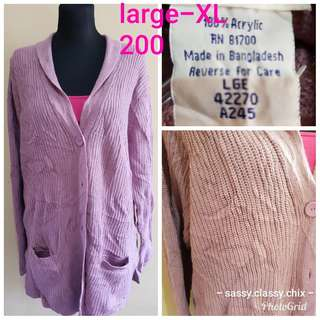 US preloved knits,cardigan and pullover- last price posted