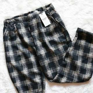 Stripe pants basic tartan P&B