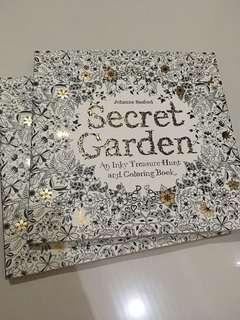 Secret Garden Coloring Book