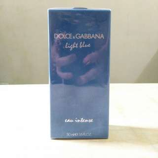(Sealed) Dolce & Gabbana Light Blue Eau Intense (EDP)