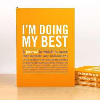I'm Doing My Best Inner-Truth Journal