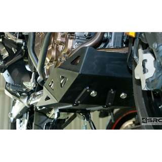 SRC Skid plate for Africa Twin (2016 ~ ) (Available in Black or Silver)