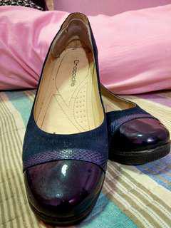 CROCODILE women shoes office wear (Dark blue)