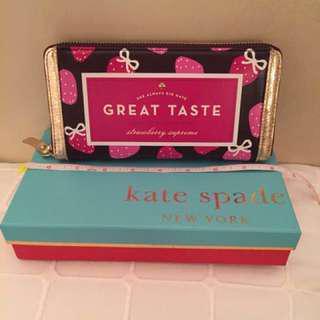 Kate Spade creme de la creme lacey wallet
