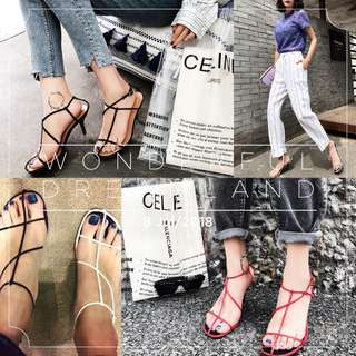 Brandnew leather heels all colors sizes avaliable