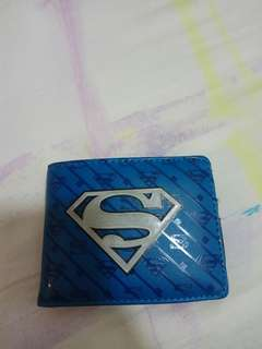 Superman logo wallet
