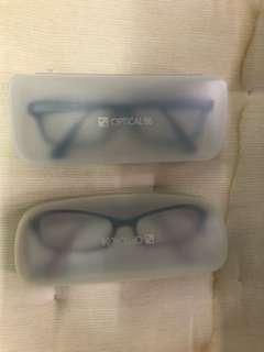 眼鏡連眼睛盒