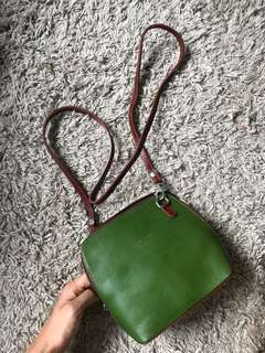 Italian hand made leather bag from Florence