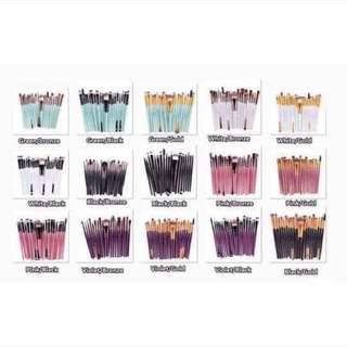 BRUSH SET 20 PCS