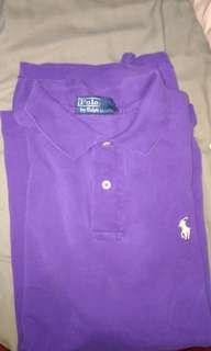Purple Ralph Lauren Polo Shirt
