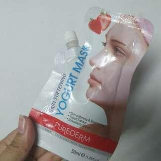 Purederm Strawberry Yogurt Mask