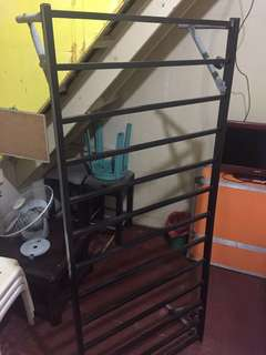 Single bed frame with free free cushion