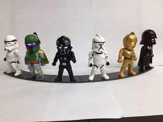 🚚 Star wars figurine with LED