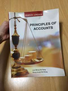 Principles Of Accounts Textbook