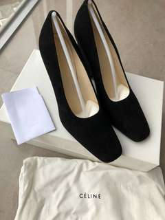 [Real! New!] Celine suede pumps / high heels! 10cm