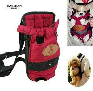 Dog backpack outdoor carrier