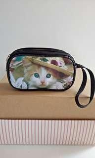 Dompet kucing 3 tempat