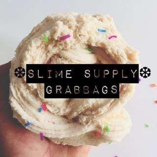 •SLIME SUPPLY GRAB BAGS•