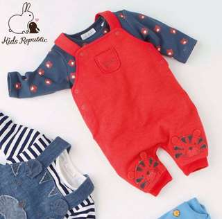 KIDS/ BABY - Dungaree/ bodysuit/ set