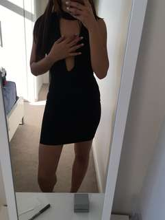 Choker clubbing/ party dress