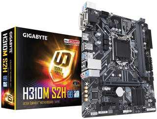 Gigabyte H310M S2H 全新 電腦底板