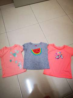 3 pcs Carters baby T for RM 10