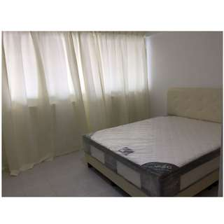 Newly renovated Master bedroom in town for rental