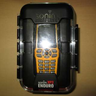 Handphone Outdoor Sonim XP3 Enduro Baru IP67 Military Standard Phonebook 1000