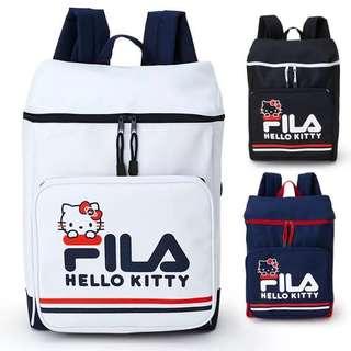 Fila hello kitty backpack