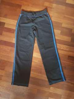 track pants blue stripe