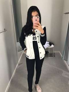 ColorBox black n white jacket