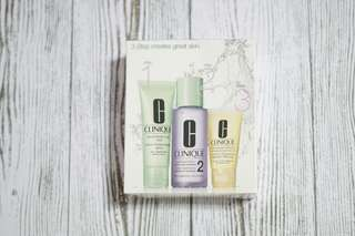 Clinique 3-step Travel Kit for Dry Combination